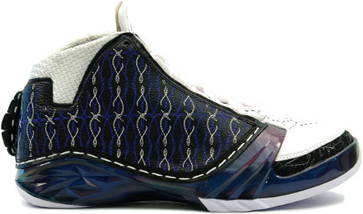 Jordan XX3 (23) Wizards / Motorsports - Black / Varsity Royal - White