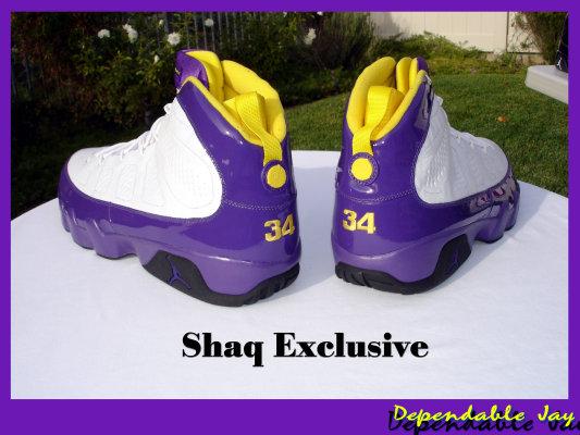 Shaq Air Jordan 9 (IX) Player Exclusive