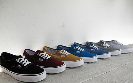 535bb5022d Vans offers a variety of colors ...