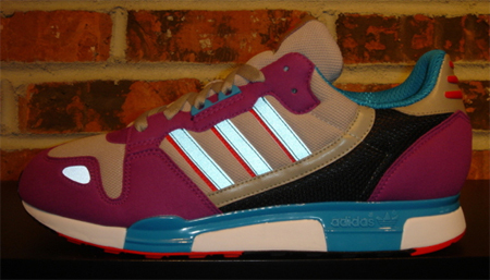 adidas ZX 800 - Violet / Turquoise / Red