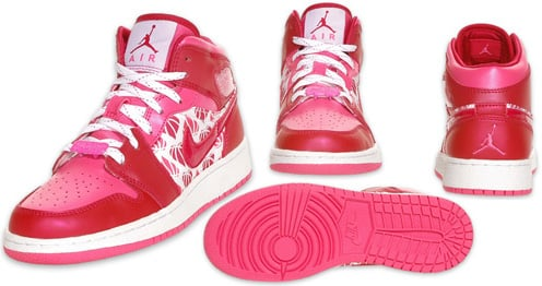 Air Jordan 1 I Retro Kids Valentines Day Sneakerfiles
