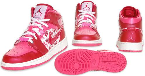 Air Jordan 1 (I) Retro Kids Valentines Day