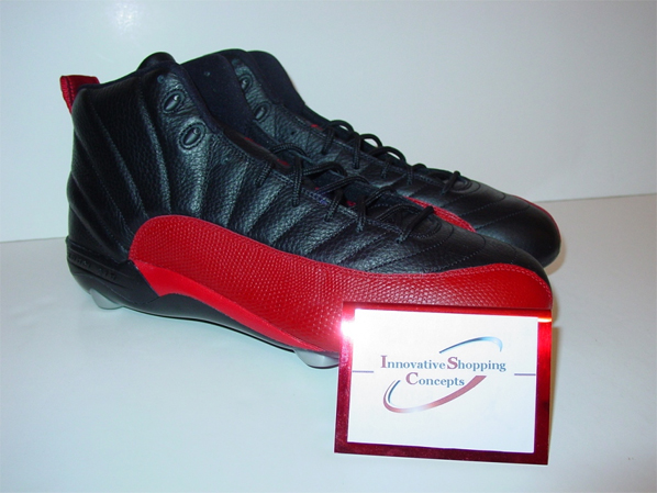 Air Jordan 12 (XII) Warren Sapp PE - Black / Varsity Red