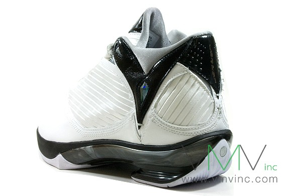 Air Jordan 2009 White Black Grey