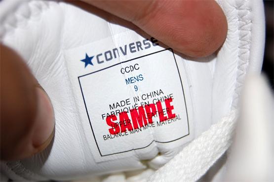Air Jordan Defining Moments Package (DMP) - Converse Samples