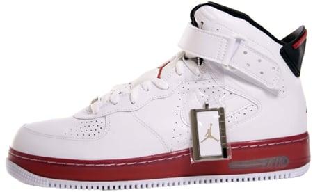 b4d7dae9b624 Air Jordan Force Fusion VI (6) White Black Varsity Red 343064-102 ...