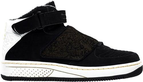 Air Jordan Fusion 20 (AJF 20) Black / Metallic Gold
