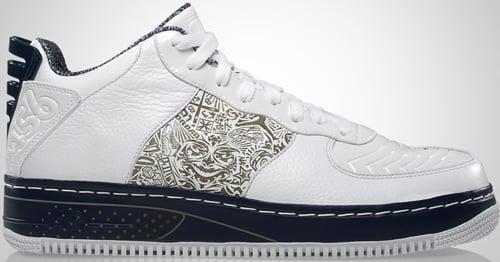 Air Jordan Fusion 20 (AJF 20) Low White / Metallic Silver – Midnight Navy