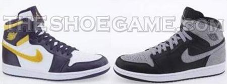 Air Jordan I (1) Alpha Omega Pack