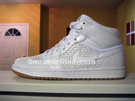 Air Jordan I 1 High Premier  White|Metallic Platinum