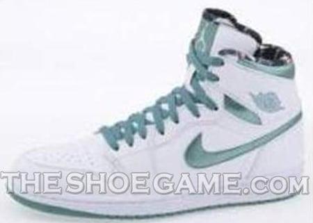 Air Jordan I (1) High - White / Green | Do The Right Thing
