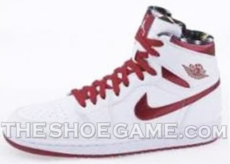 Air Jordan I (1) High - White / Varsity Red | Do The Right Thing
