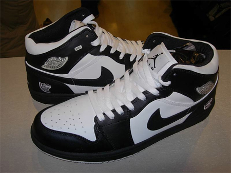 Air Jordan I (1) Quai Black White