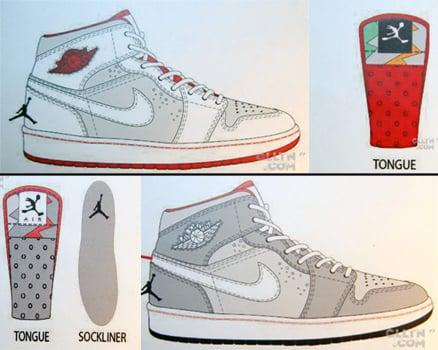 "Air Jordan Retro 1 (I) Mid ""Hare"""