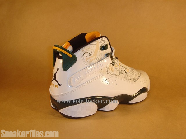 Air Jordan Six Rings - Seattle Supersonics
