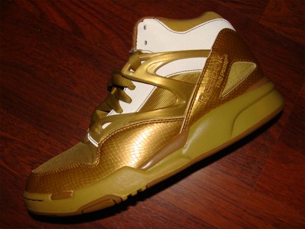 Auduet x Reebok Pump Omni Lite Gold