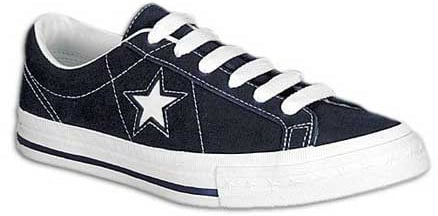 The Converse One Star has been released in many different color ways