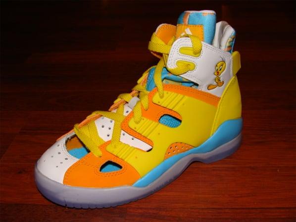 Adidas Tweety Bird Shoes