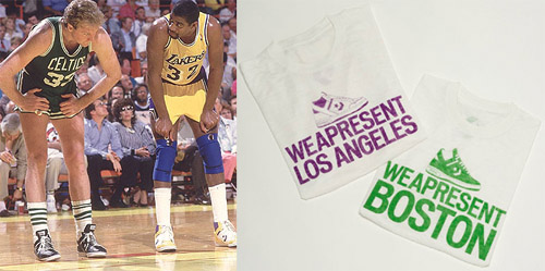 Magic Johnson - Larry Bird Converse Weapon