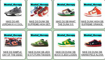 Mentaltherapy - Authentic Nike Sneakers on eBay