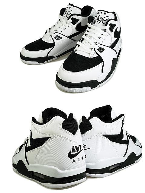 Nike Air Flight 89 - White Black 2