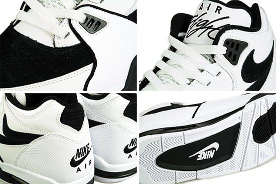 Nike Air Flight 89 - White Black 3