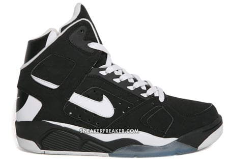 Nike Air Flight Lite High - Black / White