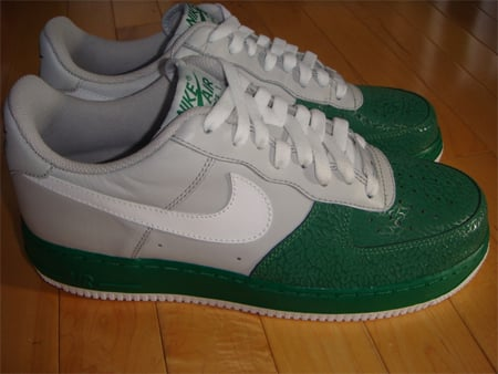 85%OFF Nike Air Force 1 Low Neutral Grey White Pine Green