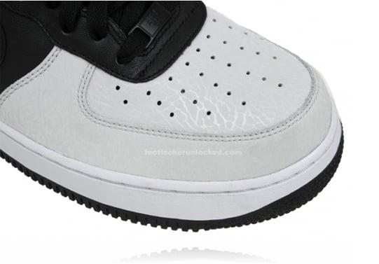 Nike Air Force 1 Low - Black / Black / Gray