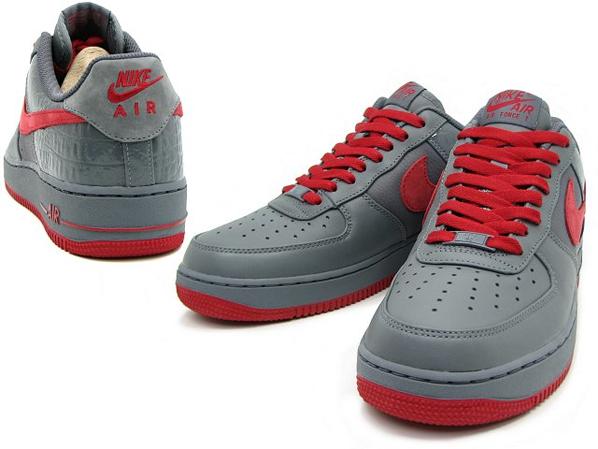 Nike Air Force 1 Low Premium Ash Red