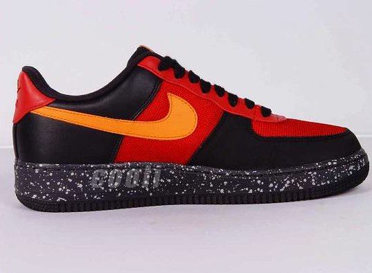 Nike Air Force 1 - Varsity Red / Mandarin - Black - Anthracite | ACG Wildedge