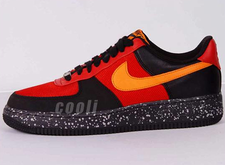 Nike Air Force 1 - Varsity Red /<br /> Mandarin - Black - Anthracite   ACG Wildedge