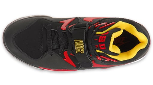 Nike Air Force 180 - Black / Varsity Red / Varsity Maize