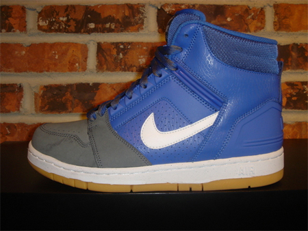 Nike Air Force II - Varsity Royal /White / Flint Grey / Gum Yellow