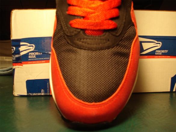 Nike Air Max 1 Sample - Black / White - Varsity Red
