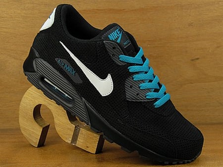 Nike Air Max 90 Black Anthracite White Neon #1: nike air max 90 black anthracite white neon turquoise 1