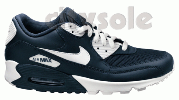 Nike Air Max 90 Dark Obsidian / White Released!