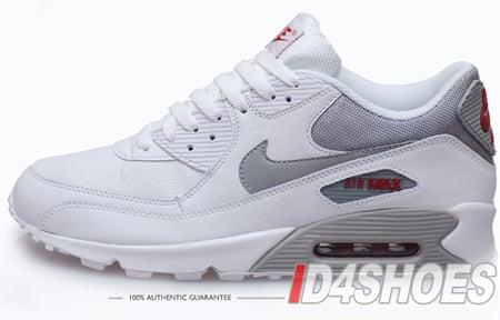 Nike Air Max 90 Quickstrike White Medium Grey Varsity Red