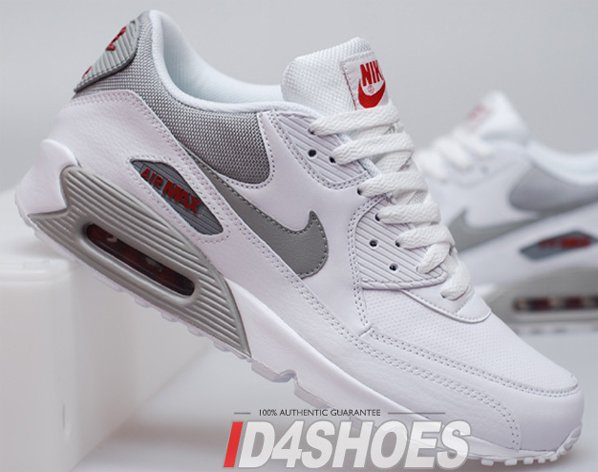 nike air max 90 quickstrike white medium grey varsity red 11s