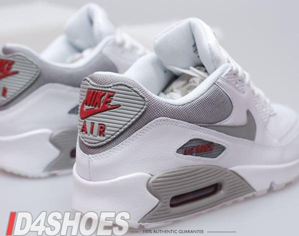 Nike Air Max 90 Del Equipo Universitario - Aire Rojo / Blanco 5vK78GtfO