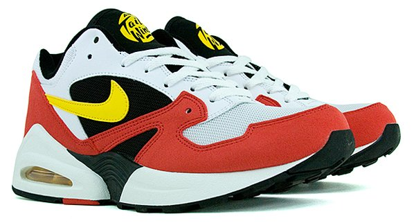 Nike Air Max Tailwind '92 Retro White Tour Yellow Red Black