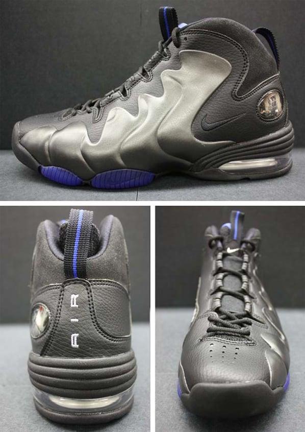 Nike Air Penny III (3) - Black / Black - Varsity Royal