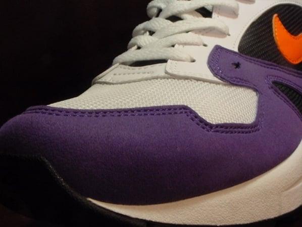 Nike Air Tailwind '92 - White / Orange Blaze / Varsity Purple - Black