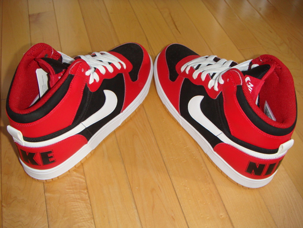 Nike High Tops The high top sneaker comes in Red. Nike High Top Womens