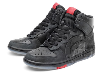 Nike Dunk High - Black
