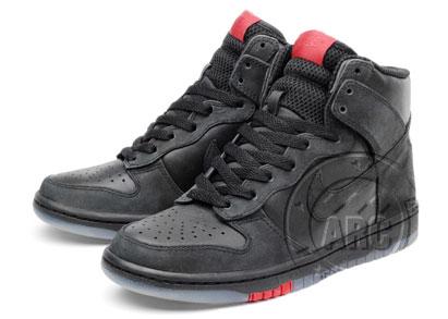 Nike Dunk High - Black Nike Air Force ...