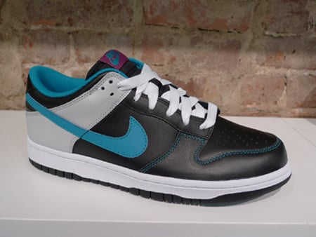 Nike Dunk Low CL - Black / Neo Turq - Neutral Grey - Rave Pink