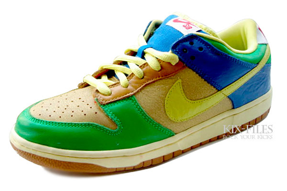Nike Dunk SB Low - Halo / Zitron
