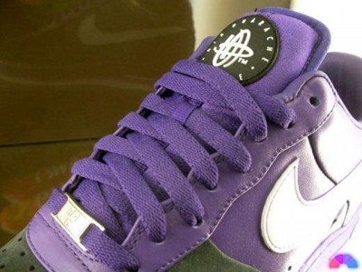 "Nike ""Huarache"" Air Force 1 - Purple / Black"