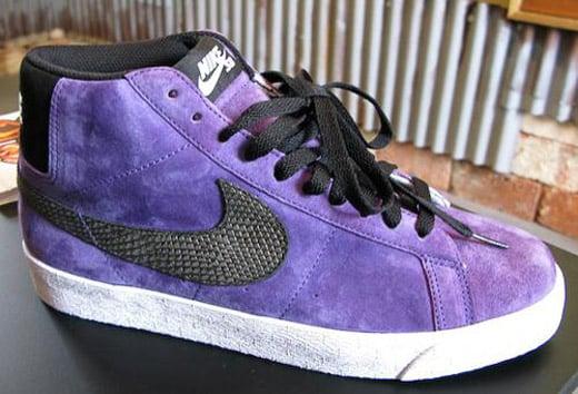 Nike SB Blazer Premium - Varsity Purple / Black